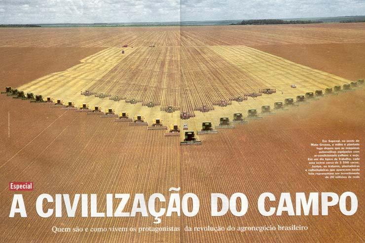 Sojaernte Brasilien
