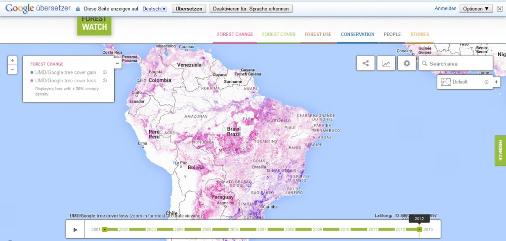 Grafik: Global Forest Watch