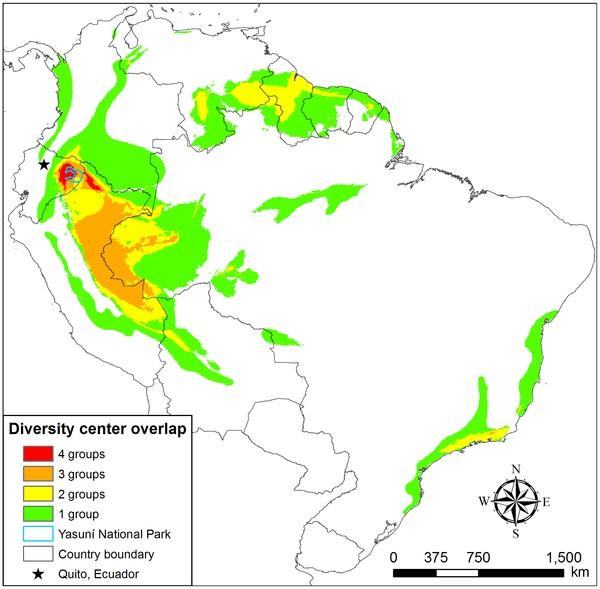 Grafik: Yasuni Biodiversität