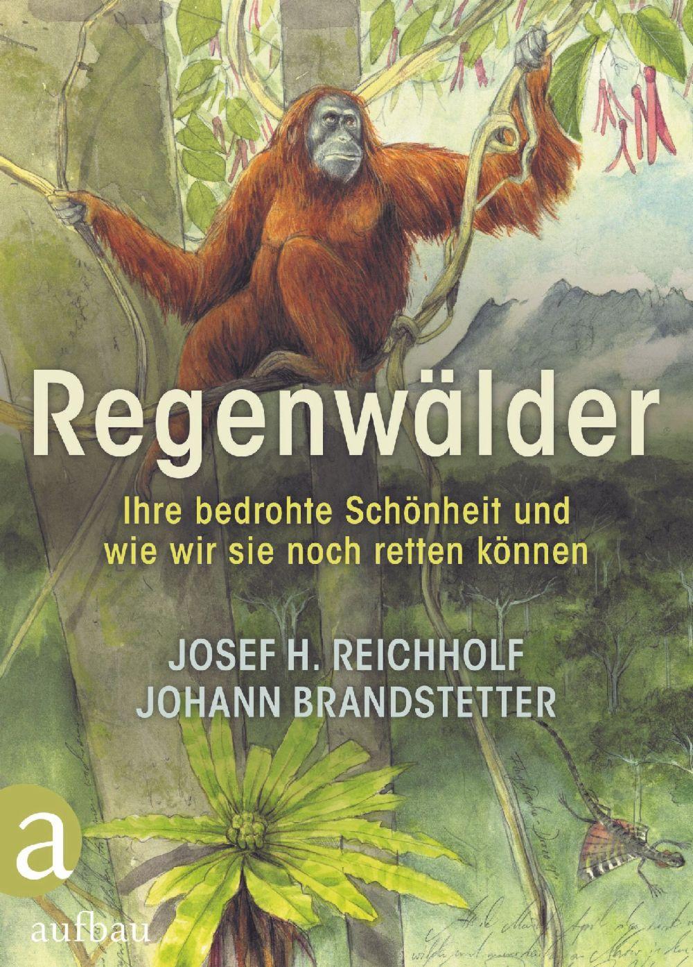 """Buchcover Reichholf / Brandstetter """"Regenwälder"""""""""""