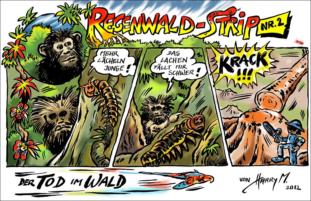 Regenwald-Strip Nr. 2