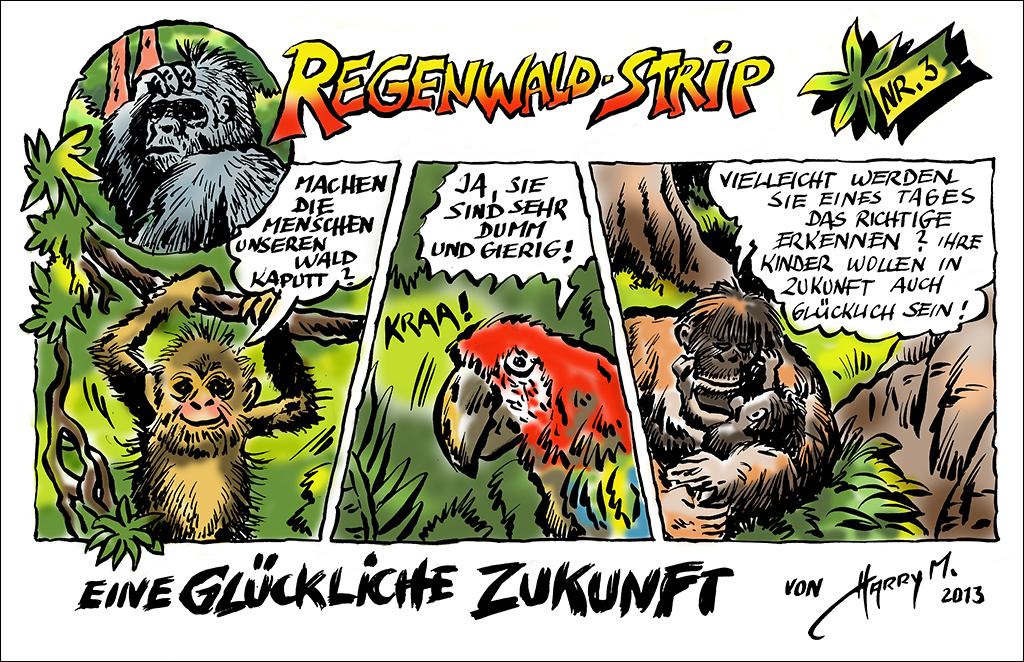 Regenwald-Strip Nr. 3